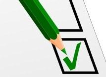 Check-list de critères de sélection d'action